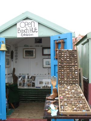 Open Beach Hut Exhibition