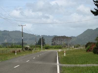 On the road to Hicks Bay from Te Kaha