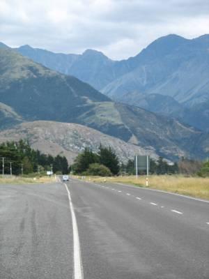Kaikoura Mountain Range