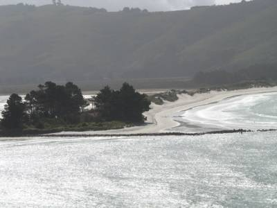 View from Otago Peninsular near Taiaroa Head