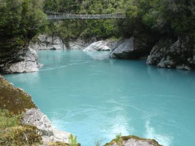 Hokitika Gorge and swing bridge