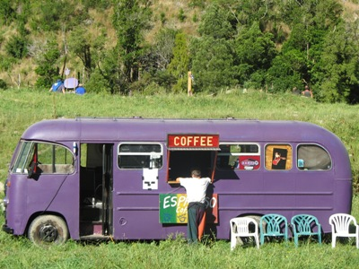 The coffee bus