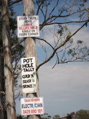 Pothole Tally