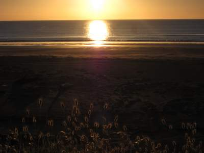 Sunset at Mahia Beach