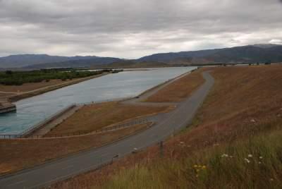 Ohau C Dam canal