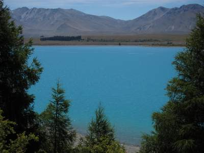 Lake Tekapo - Mount John Summit