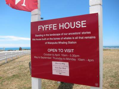 Fyffe House Sign