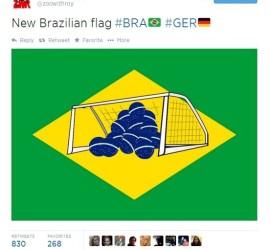 New Brazil flag
