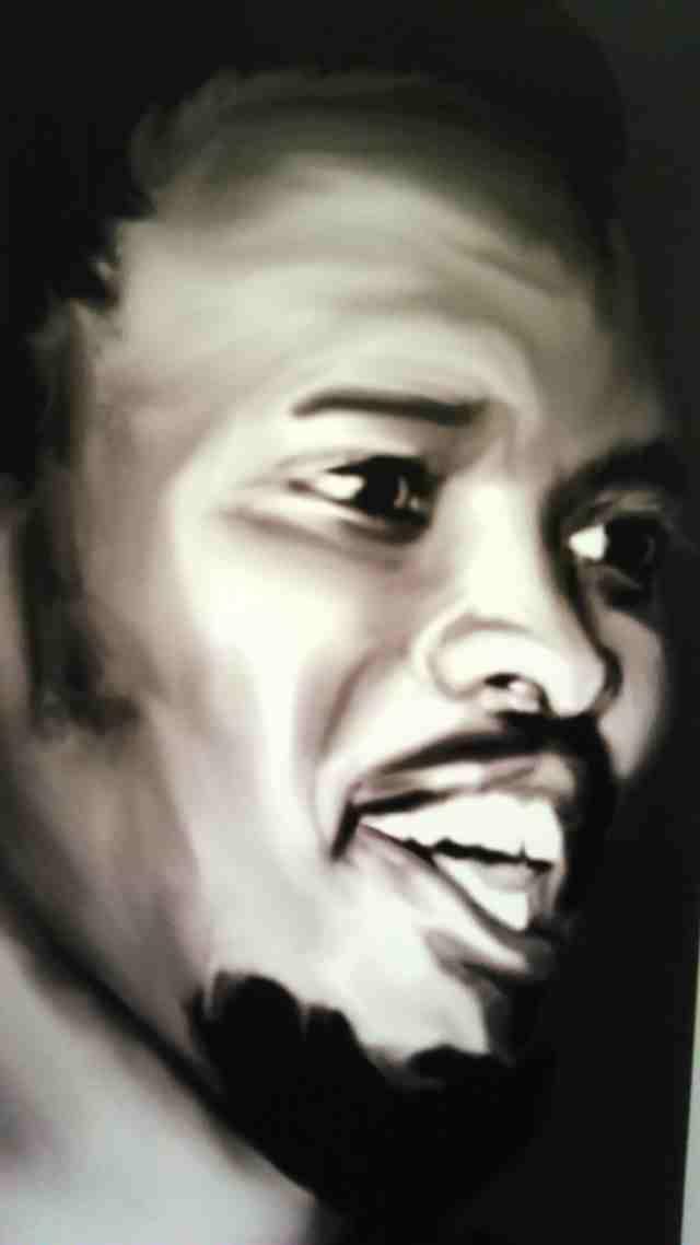Steve Biko portrait