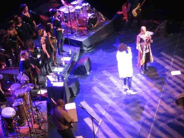 Angelique Kidjo and Asa