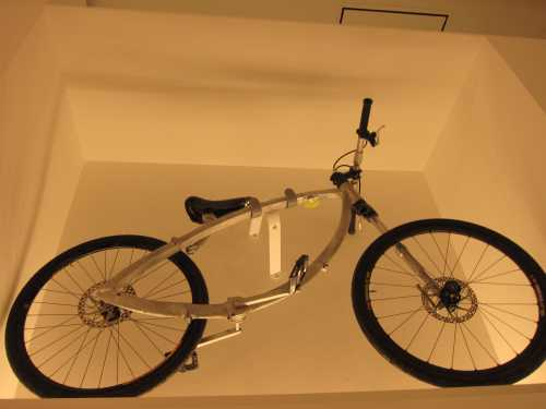 early folding bicycle