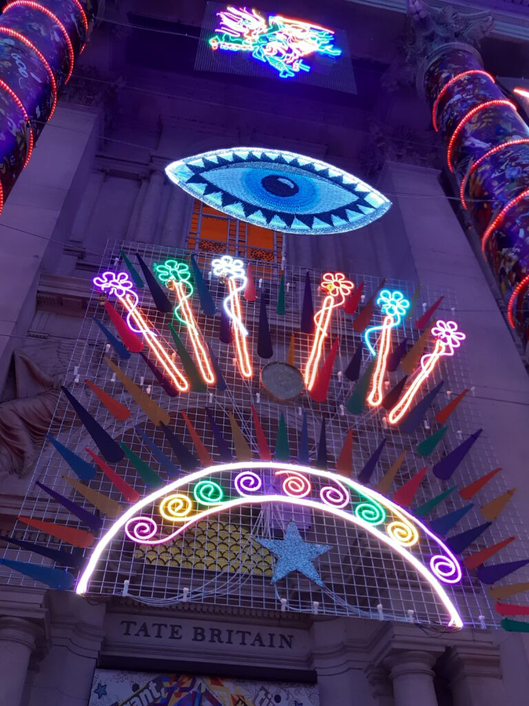 Brave new world - festive lightshow